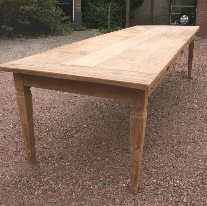 mooie teak tafel 3 meter | Eetkamer/keuken | Pinterest | Tisch