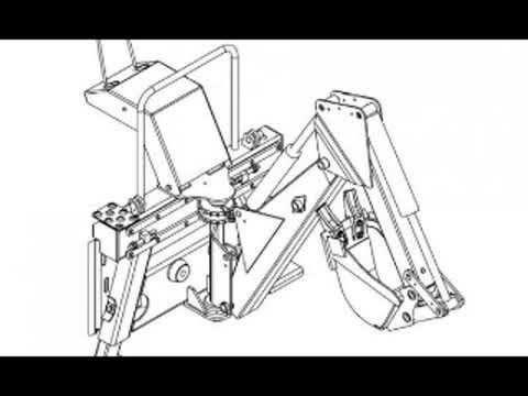 Bobcat 8811 Backhoe Workshop Service Repair Owner's Manual