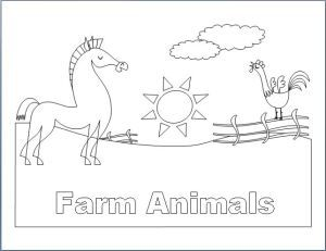 The given Farm Animals Coloring Book is designed using Microsoft Word. It has eight (8) pages that are filled with sketches of different farm animals. It is a test of your skill as to chose and fill each animal with matching color. You can download this file and start from just today. Have fun!