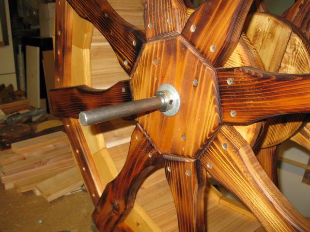Water wheel sketchup showcase roda e cavalete for Mobilia sketchup 8