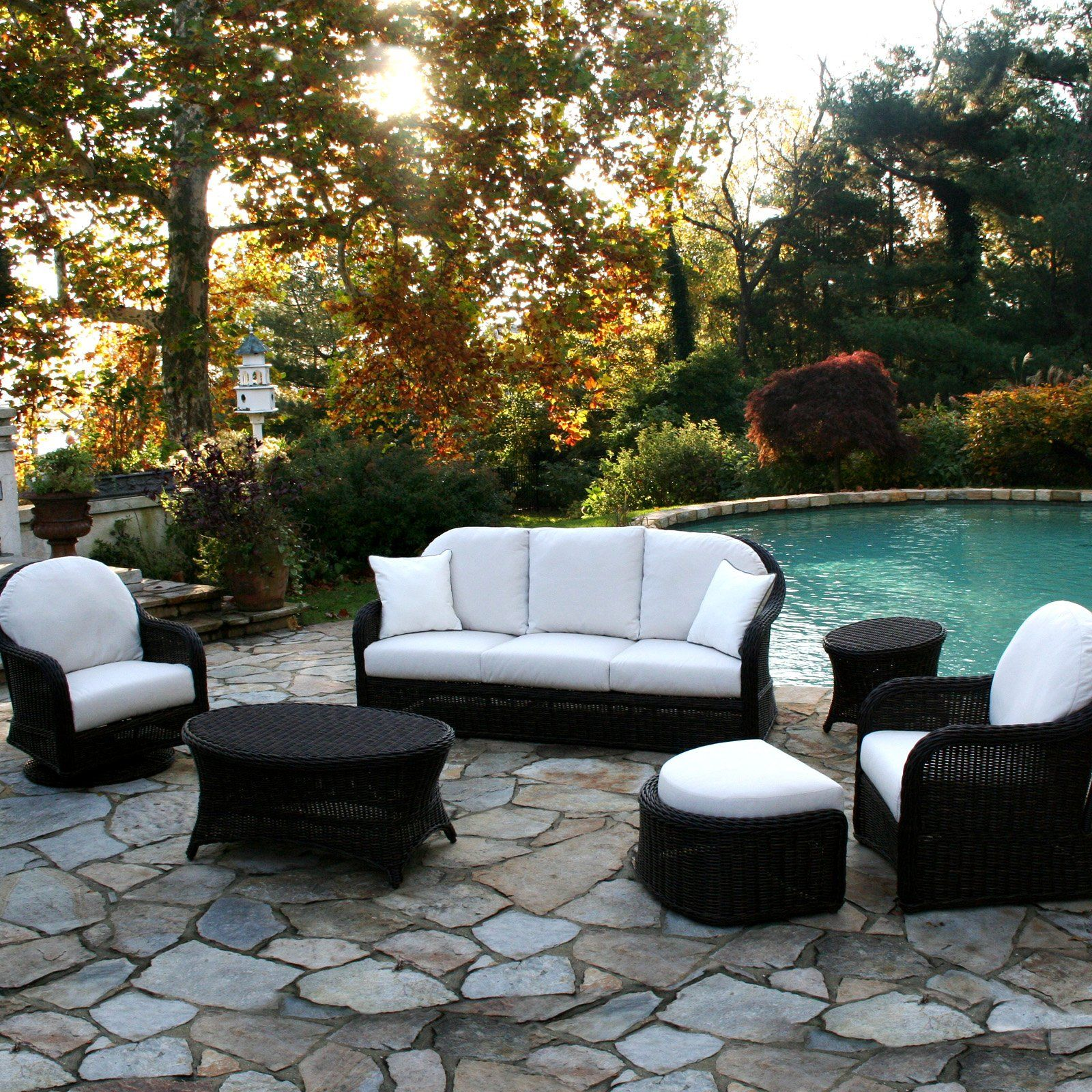 Have to have it. Anacara Mariner AllWeather Wicker Patio