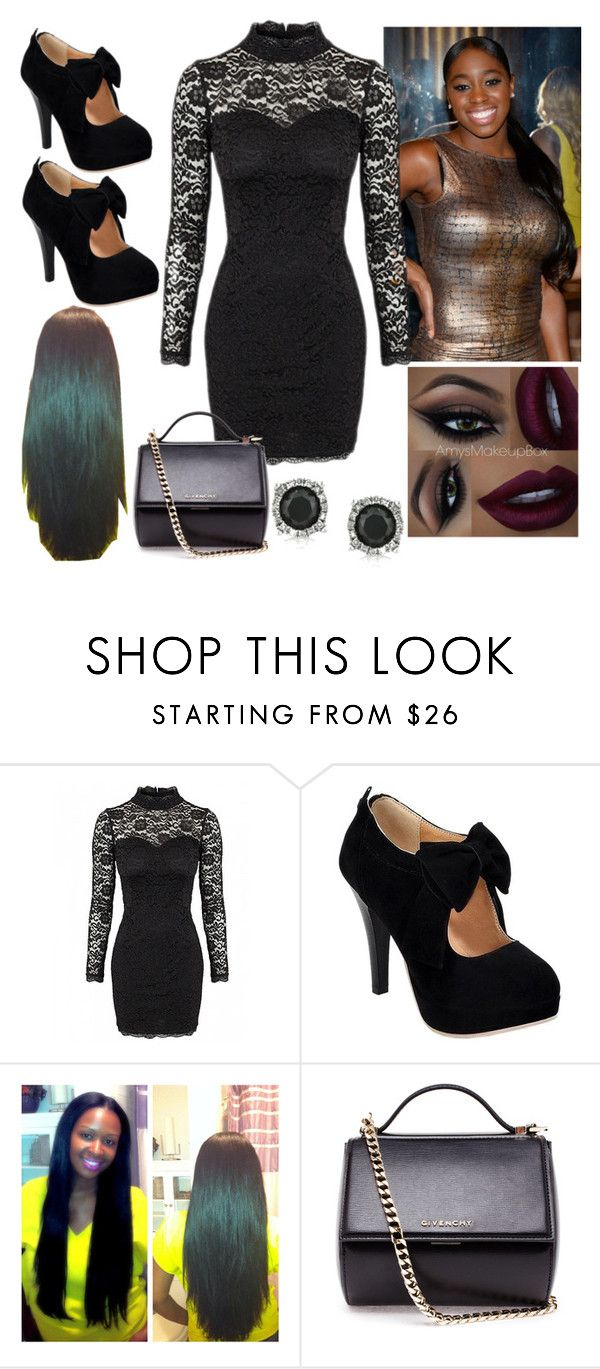 """The New Naomi"" by katwwexo ❤ liked on Polyvore featuring Givenchy and Mark Broumand"