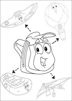 Go diego go coloring page 12 | Kids coloring book | Pinterest