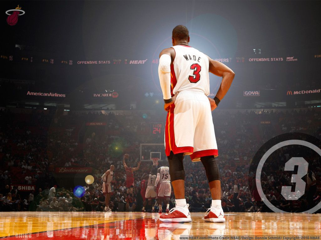 dwyane wade basketball wallpaper hd for desktop free download