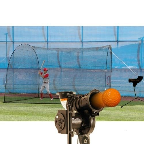 Heater Sp199 Power Alley Lite Machine And Homerun Cage As