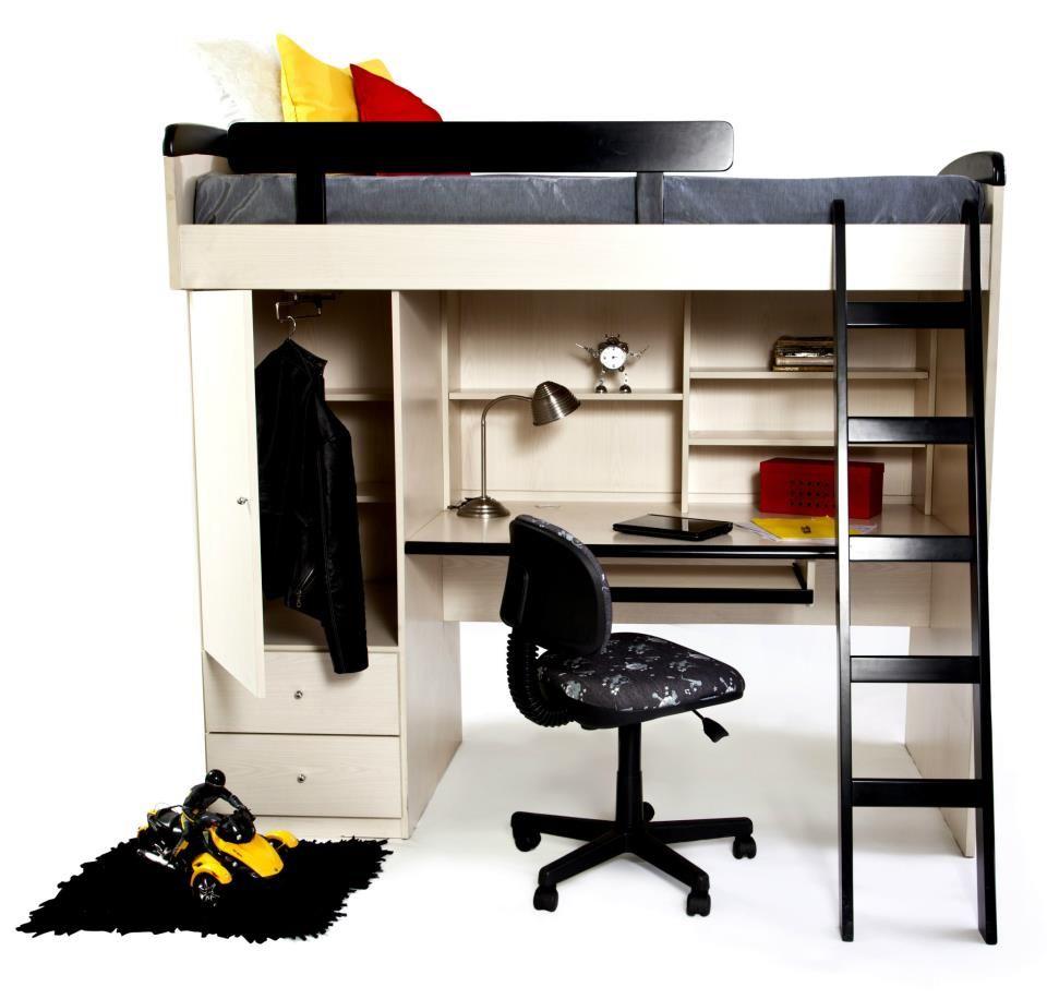 Loft bed with desk and chair  Pin by Lona Bega on ҡıԁs ɾσσмѕ  Pinterest  Photos