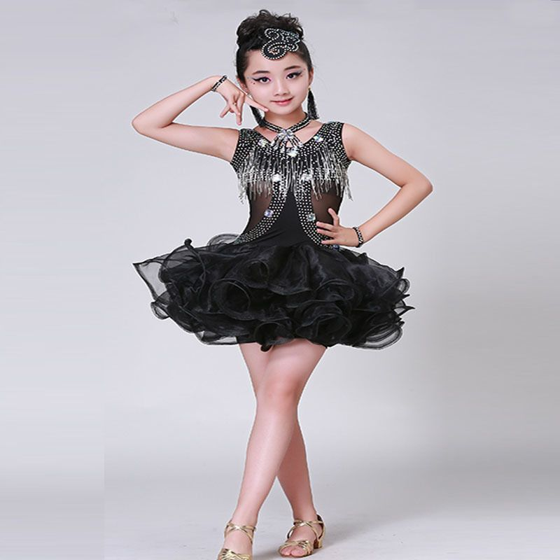 dcad0cb4f Children Lading Dance Show Serve New A Juvenile Lading Dance Skirt ...