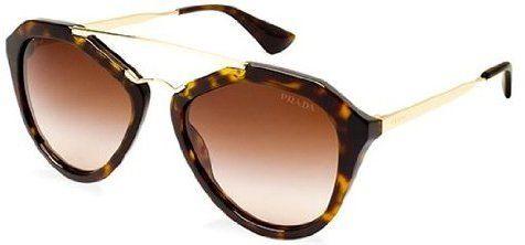 5e7edf2960 Prada Women s Gradient PR12QS-2AU6S1-54 Tortoiseshell Butterfly Sunglasses