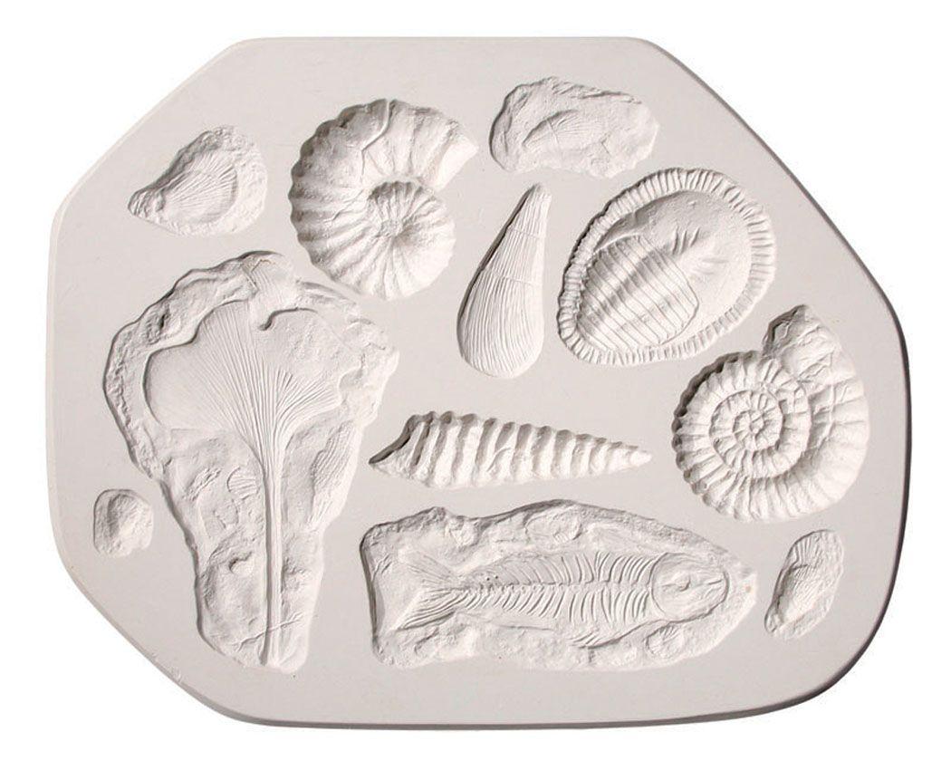 silicone fossil mold