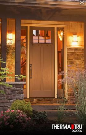 Simple But Clean And Perfect Brown Door. Please Call NEXT For All Of Your  Window