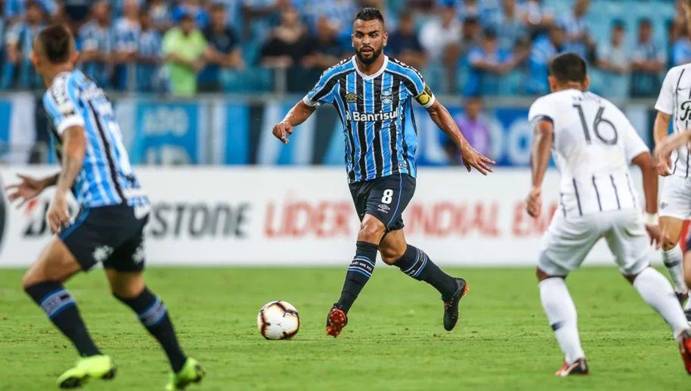 Gremio 2 X 0 Libertad Tricolor Derrota O Libertad E Abre Vantagem Nas Oitavas Da Libertadores Em Porto Alegre Renato Gaucho