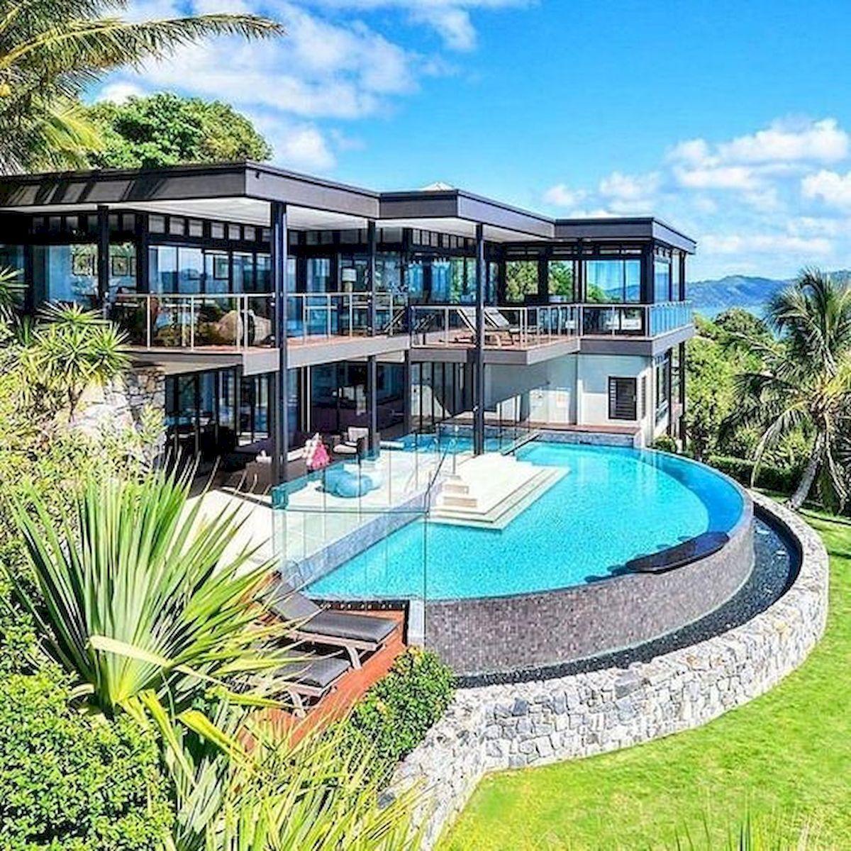 40 Stunning Mansions Luxury Exterior Design Ideas | Tenues ...