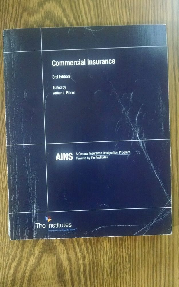 Commercial Insurance Ains 23 Textbook And Study Guide Commercial