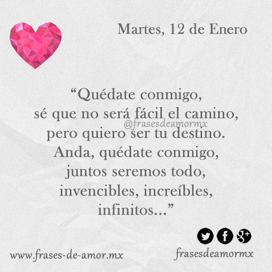 Pin De Telmi Obregon En Amorpillo Pinterest Amor Frases De