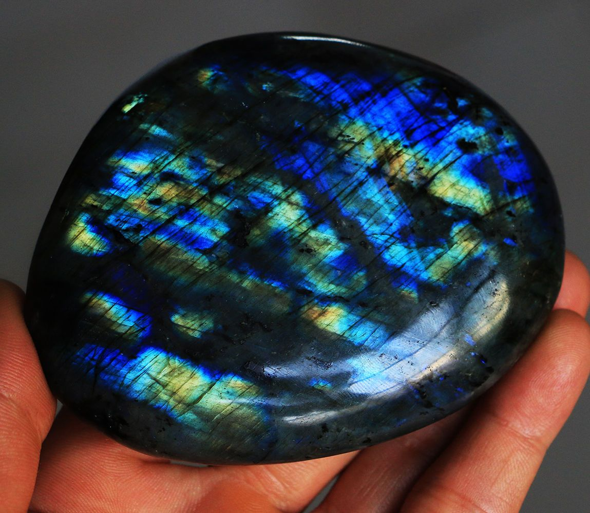 346g Natural Labradorite Crystal Rough Polished rock From Madagascar Y896 | eBay