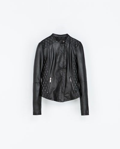 ZARA leather jacket! Wanted!!!
