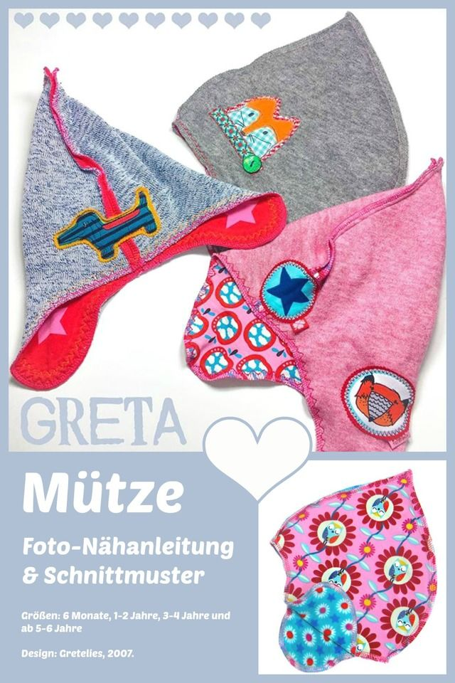 Mütze Greta, Kreativ-Ebook - farbenmix Online-Shop - Schnittmuster ...