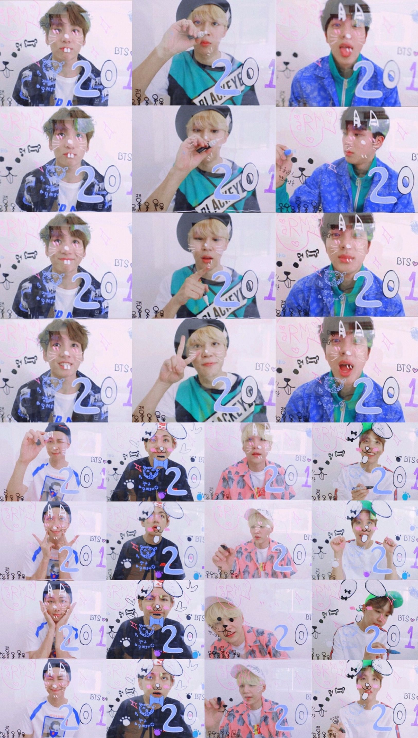 Cute Dance Wallpapers Btsarmy ️ ♡ Bts 2018 Season S Greetings Bts