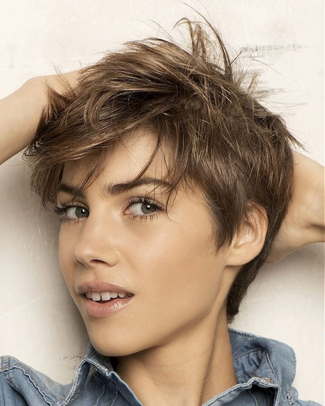 21 Coolest Short Haircuts For Teenage Girls Child Insider Messy Pixie Haircut Messy Hairstyles Thick Hair Styles