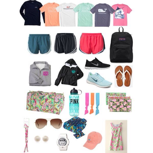 Preppy Girls Camping Wardrobe And Other