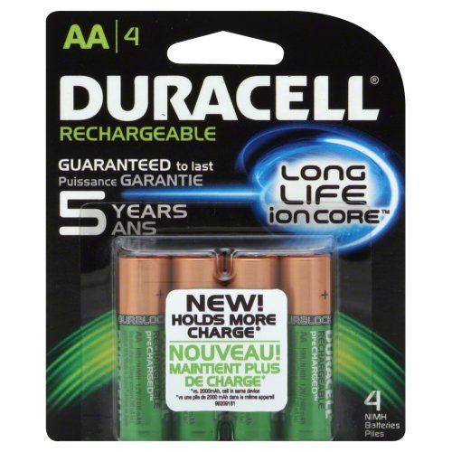 Duracell Pre Charged Aa Rechargeable Batteries 4 Count Camera Battery Biz Http Www Amazon Com Dp B Duracell Duracell Batteries Rechargeable Battery Charger