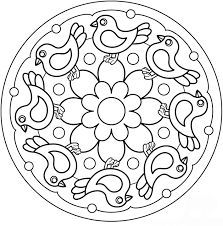 Pin De Brenda Flowers En Coloring Pages Mandala Mandala Coloring
