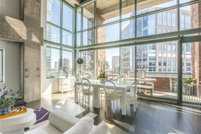 Hot Property: Light Filled Loft In Downtown Dallas U2013 D Magazine 1999  McKinney Avenue #1608