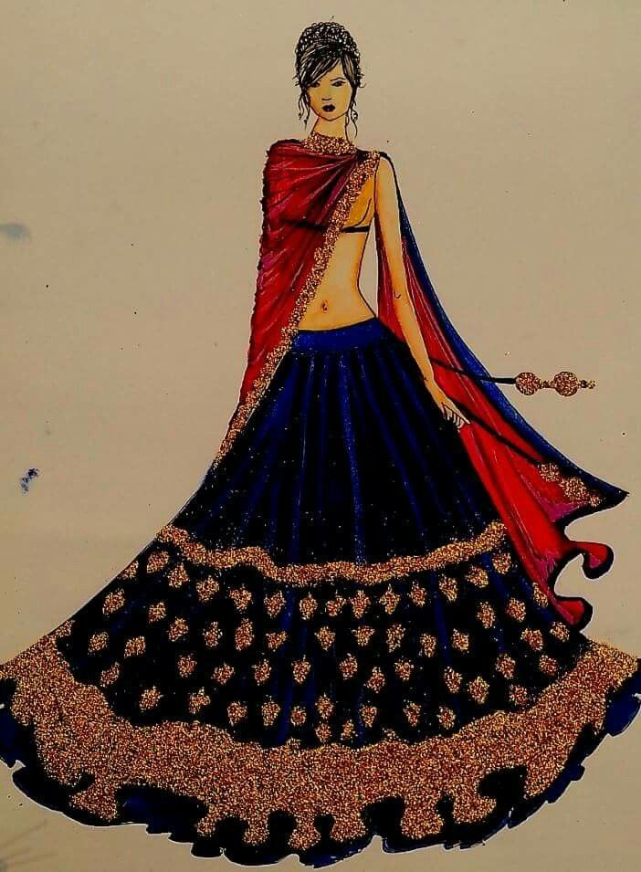 Pin By Tahreem Tahir On Fashion Illustrations Fashion Illustration Sketches Dresses Fashion Sketches Dress Design Sketches