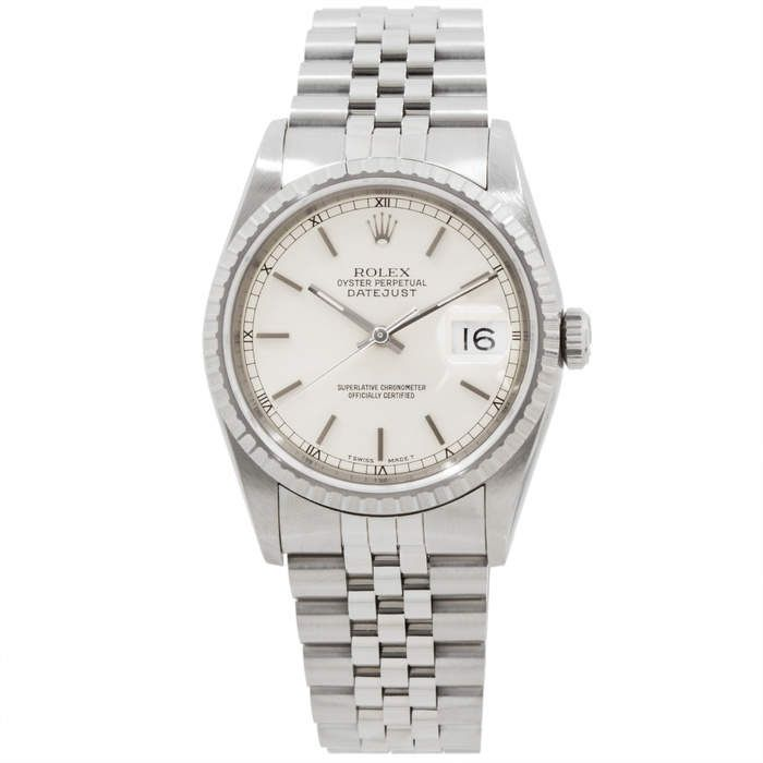 Rolex DateJust 16220 #rolexwatches