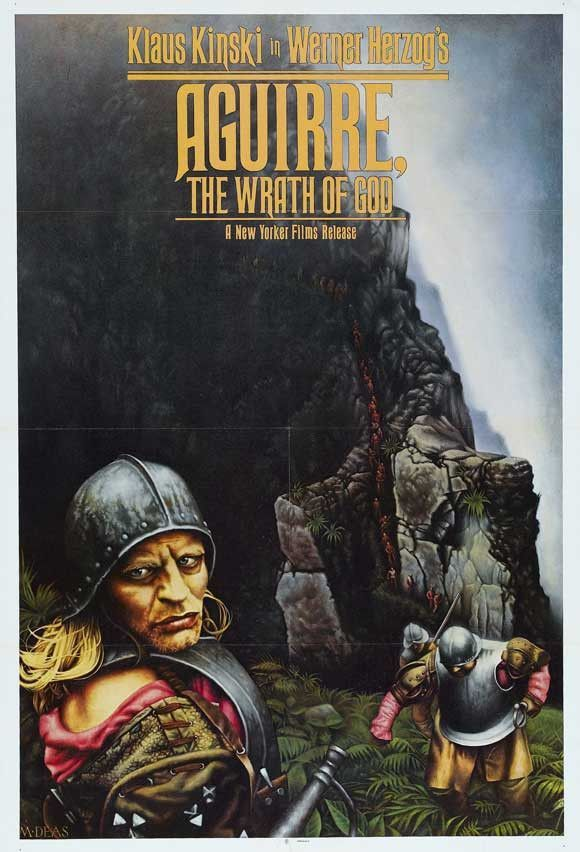 Aguirre, the Wrath of God 11x17 Movie Poster (1972)