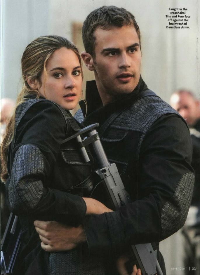 Epic Hero- Tris in the book Divergent is an example of an ...