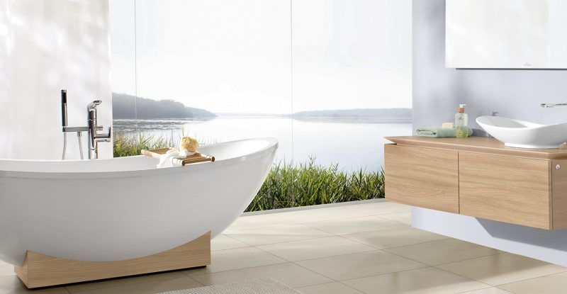 Vasca Da Bagno Restauro : Vasche da bagno villeroy boch: design straordinario e massimo relax