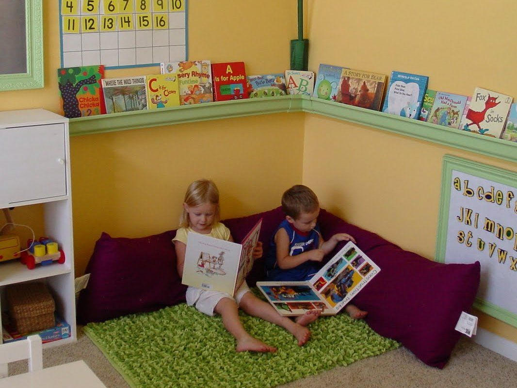 7 Inspiring Kid Room Color Options For Your Little Ones: 25+ Best Ideas About Preschool Reading Corner On Pinterest