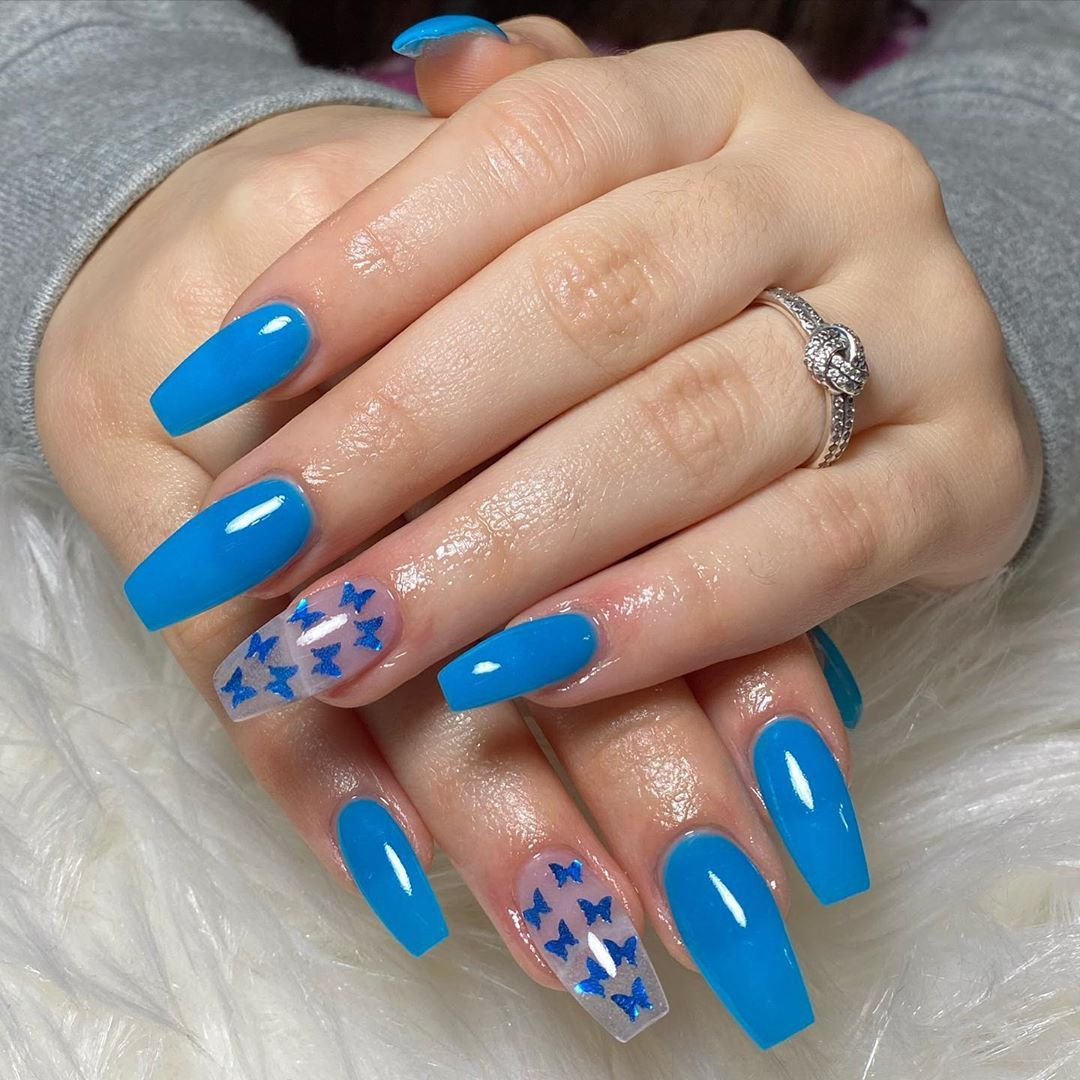 52 Best Dip Powder Nail Color Ideas For 2020 In 2020 Pretty Acrylic Nails Powder Nails Nail Colors