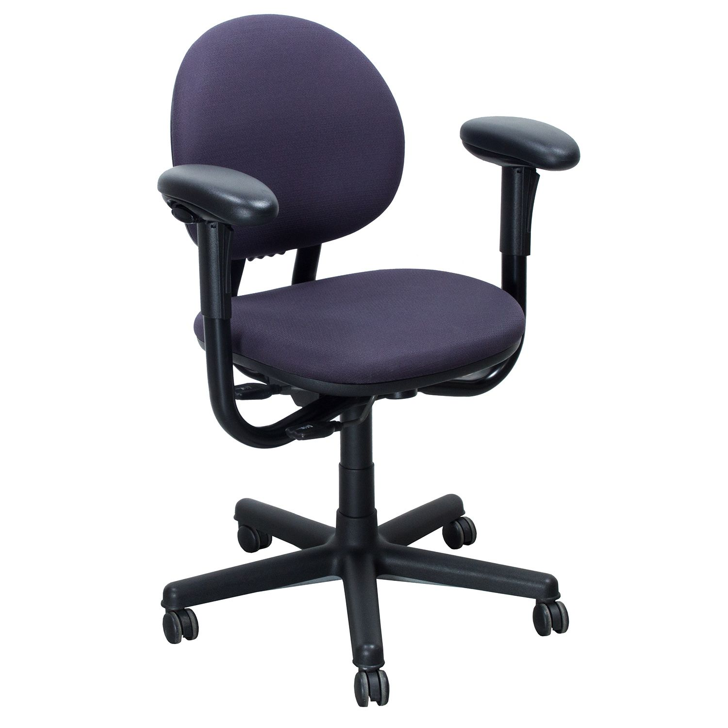 Steelcase Criterion Mid Back Series Task Chair, Purple #NOLstore Http://www