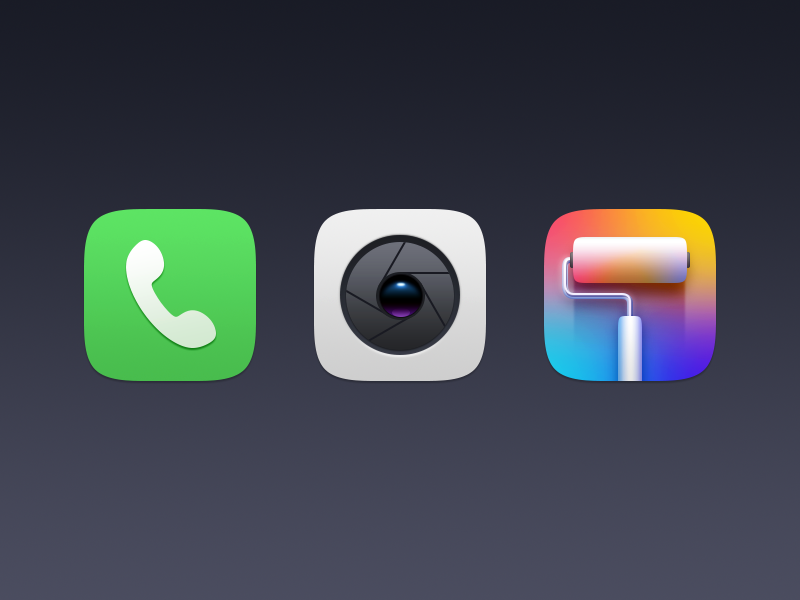 some icons by ididi