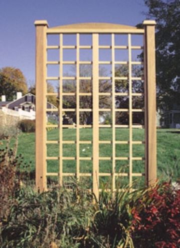Another trellis that could be adapted to be a wall trellis for Garden trellis plans