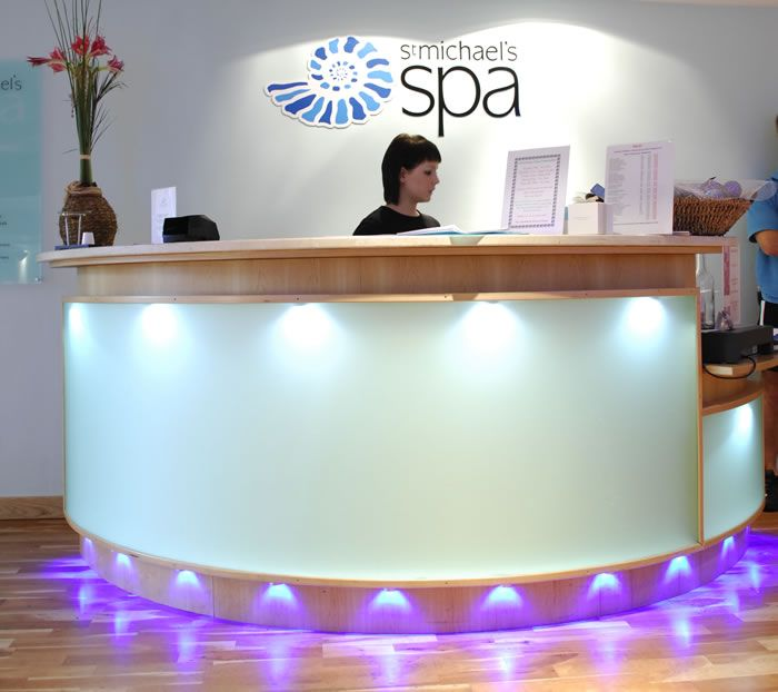 spa reception area design ideas - Google Search | Public Area Design ...
