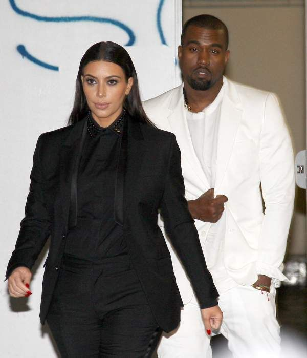 Kim Kardashian And Kanye West Name Baby North West Nori For Short Kanye West And Kim Kim Kardashian And Kanye North West Baby