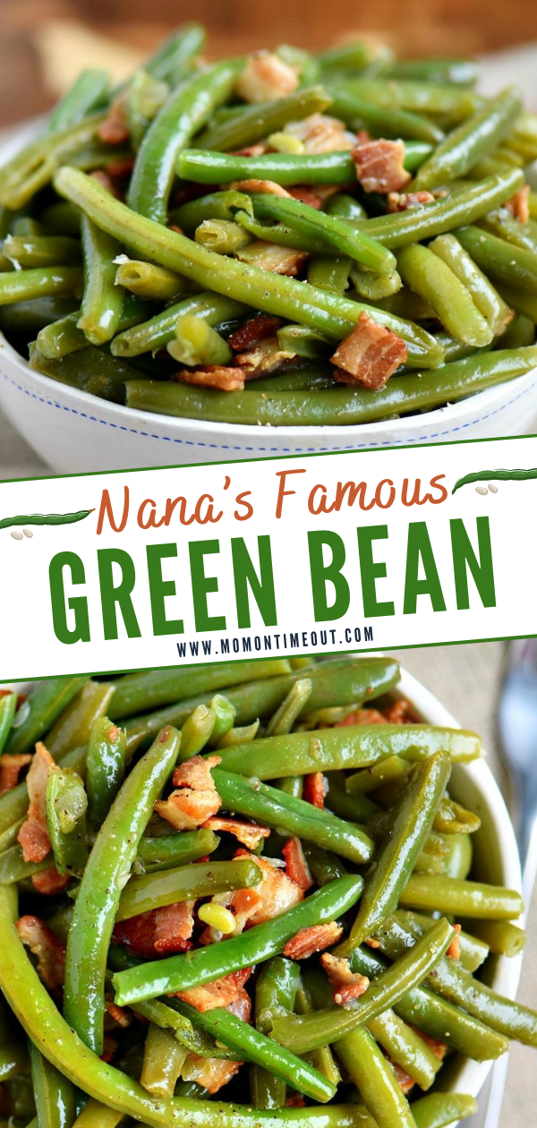 Nana's Famous Green Bean Recipe -   19 thanksgiving sides recipes green beans ideas