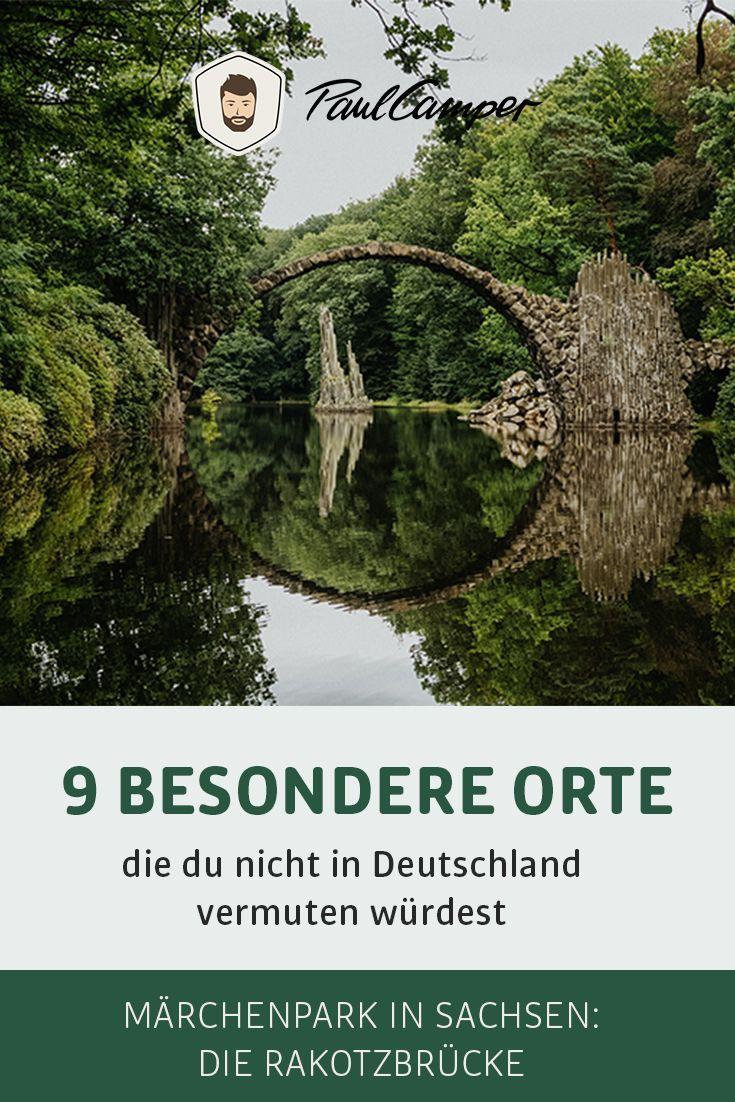 9 außergewöhnliche Orte, die du nicht in Deutschland vermuten würdest