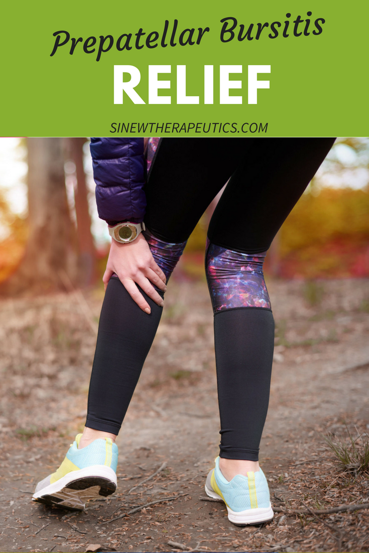 The Prepatellar Bursa Is Located In Front Of The Kneecap And When