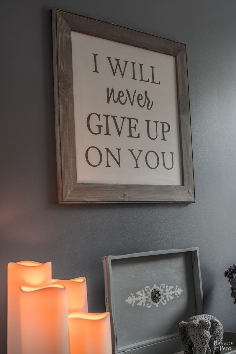 The Perfect Anniversary Gift: Vows Sign | Anniversary gifts ...