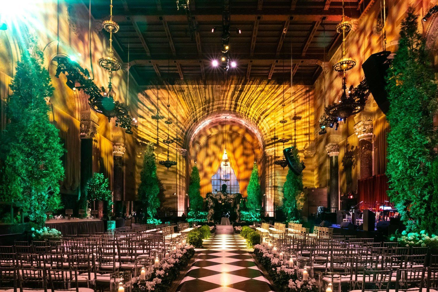 A romantic magical inviting luxury wedding in new york