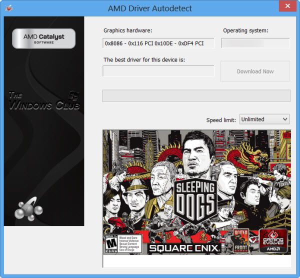 Update Amd Drivers With Amd Driver Autodetect For Windows 10 Amd Graphic Card Drivers