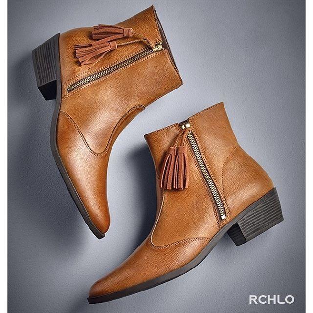 Instagram media riachuelo - Uma bota caramelo não pode faltar no seu  guarda-roupa. c53e0bb607