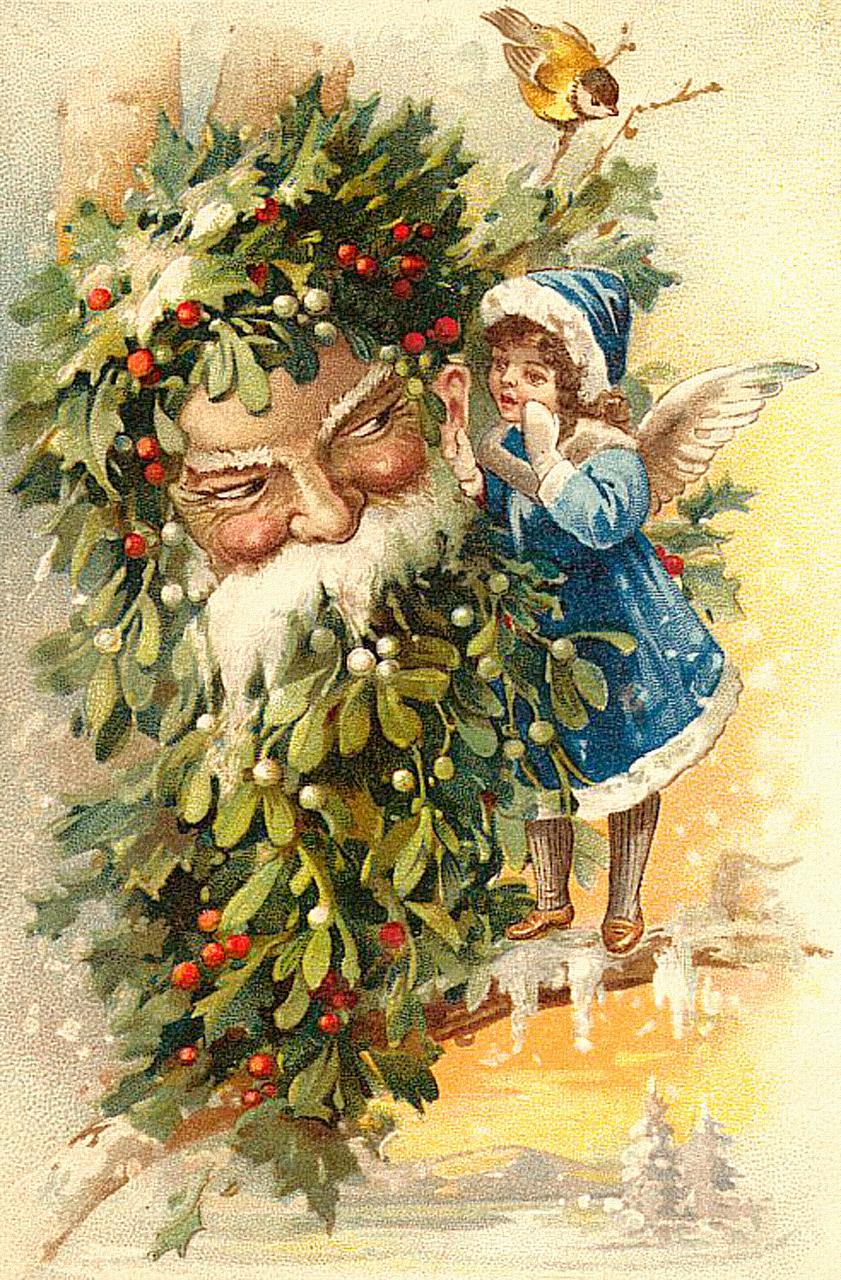 Рождество ретро открытки картинки, картинки