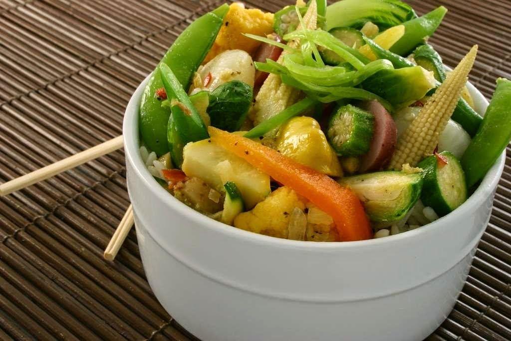 Lareceta verduras al vapor cocina sana y ligera - Cocinar verduras para dieta ...