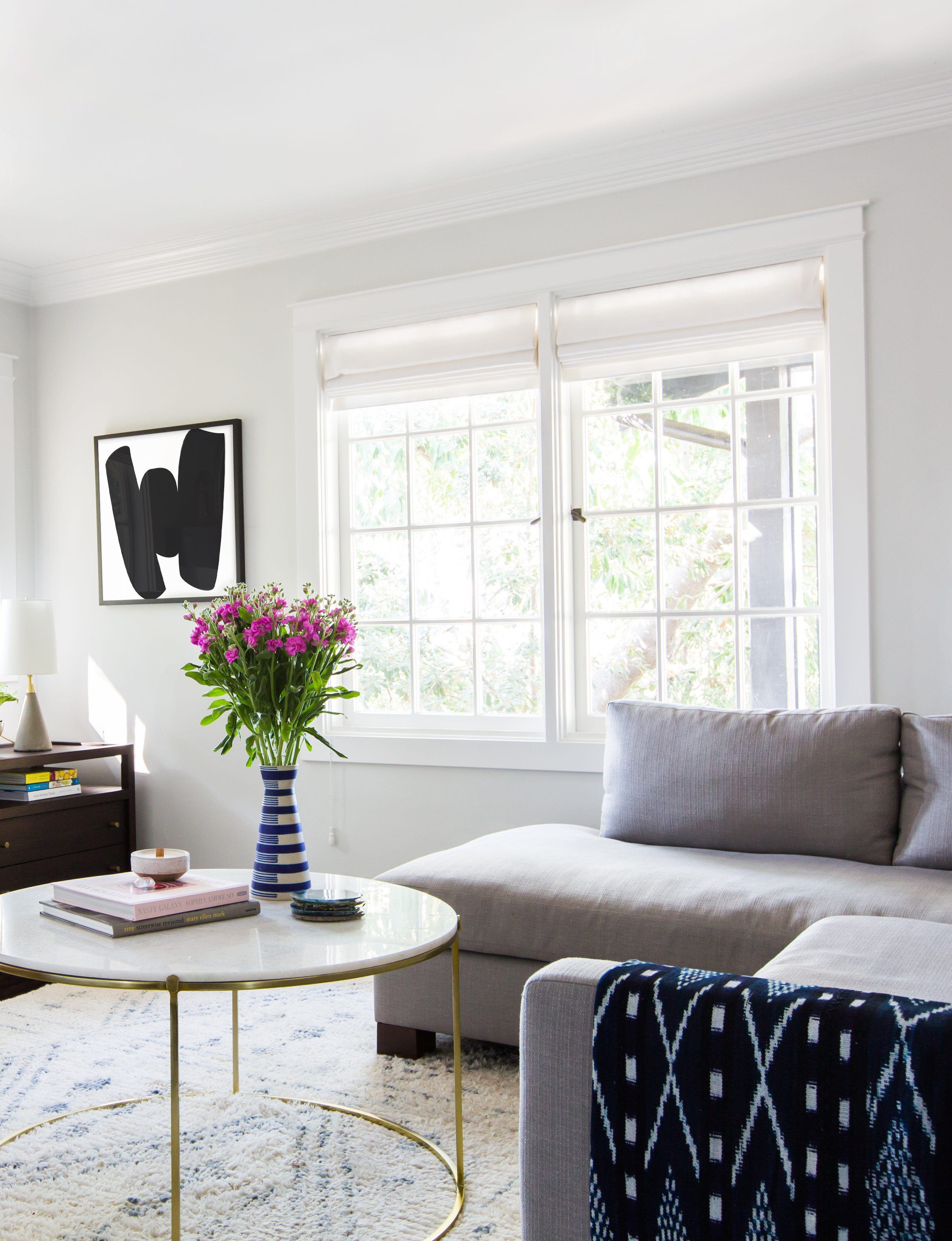 light gray paint colors are trickier to decorate with than