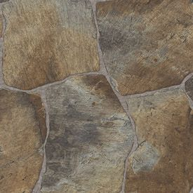Our Flooring ~ Tarkett Vinyl Flooring From Lowes ~ Berkshire Pavers #362954  ~ No Glue Required $84.24 ~ Lowes: